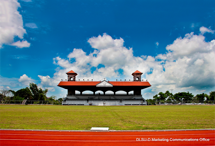 Track Oval and Grandstand