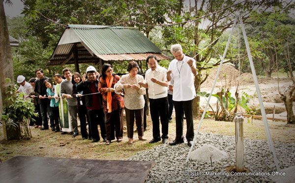 DLSU-D High School Groundbreaking Ceremony