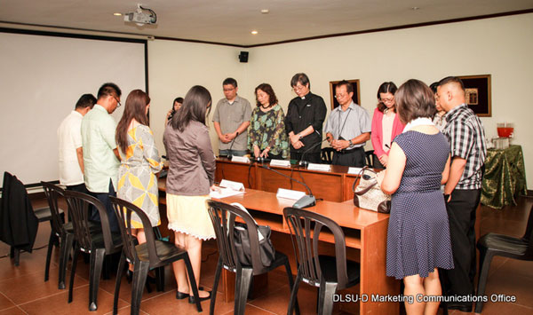 Guests from Graduate School of Educational Leadership and Development, Fu Jen Catholic University, Taiwan
