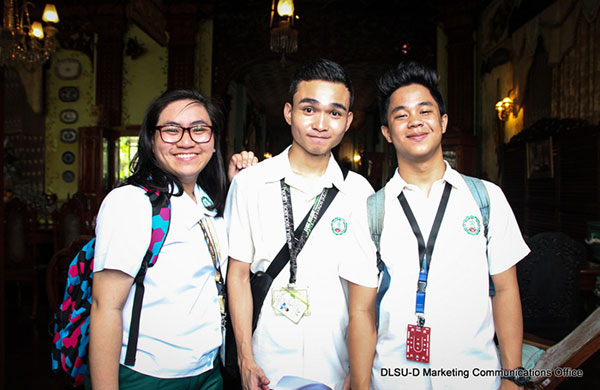 Lasallian Youth from France at DLSU-D