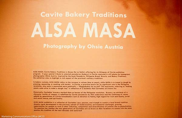 Cavite Bakery Traditions : ALSA MASA