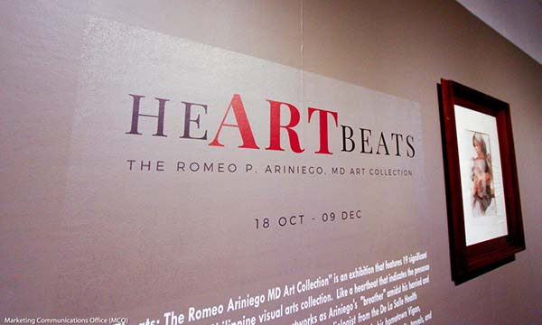 HeARTbeats - The Romeo P. Ariniego MD Art Collection