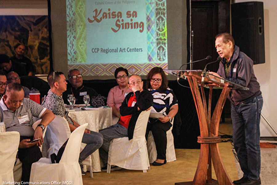 CCP Kaisa sa Sining CCP regional Arts Centers 2018 MOU Signing and General Assembly