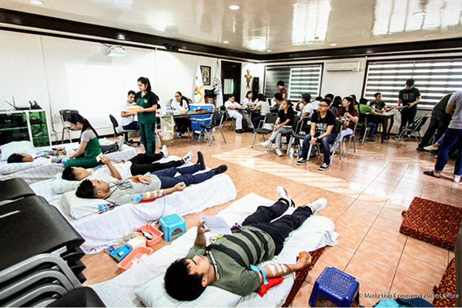 Lasalyanong Sandugo-an (Bloodletting Activity)
