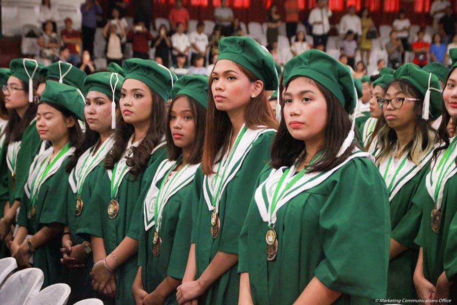 DLSU-D Senior High School 1st Commencement Exercises