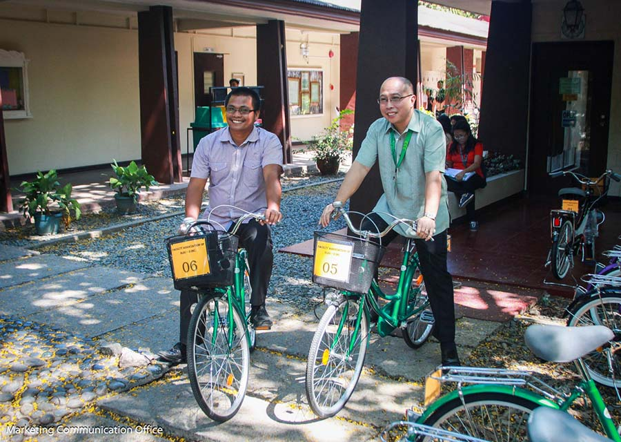 Blessing of Faculty Association's Bike Project