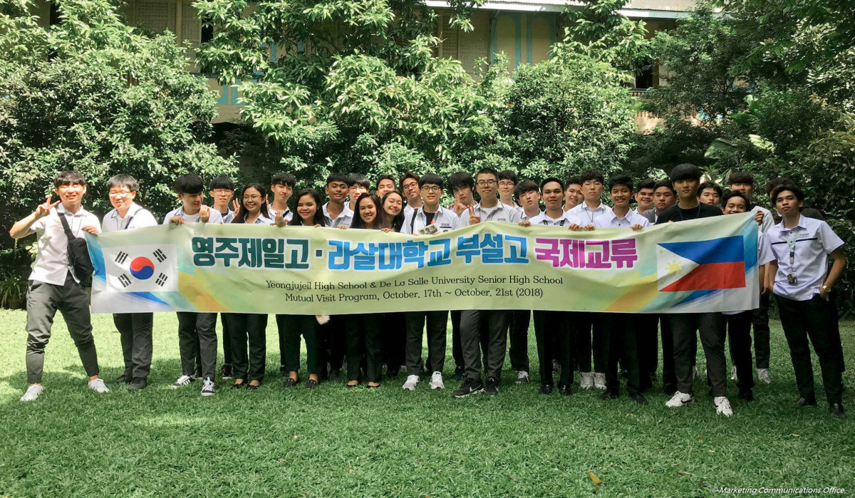 Yeongjujeil High School and DLSU-D High School Mutual Visit Program