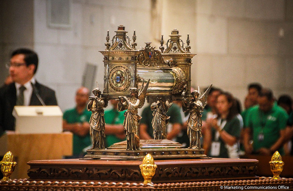 A Journey of Faith: Tour of the Relic of Saint La Salle