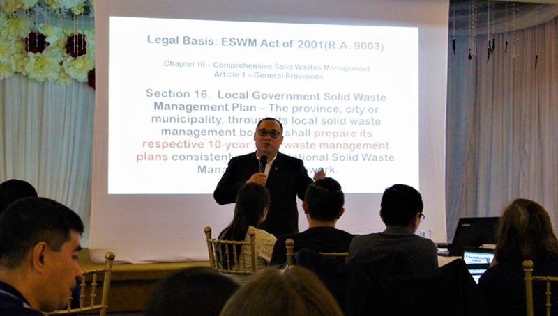 BSD prof tapped as DENR trainer for ESWM