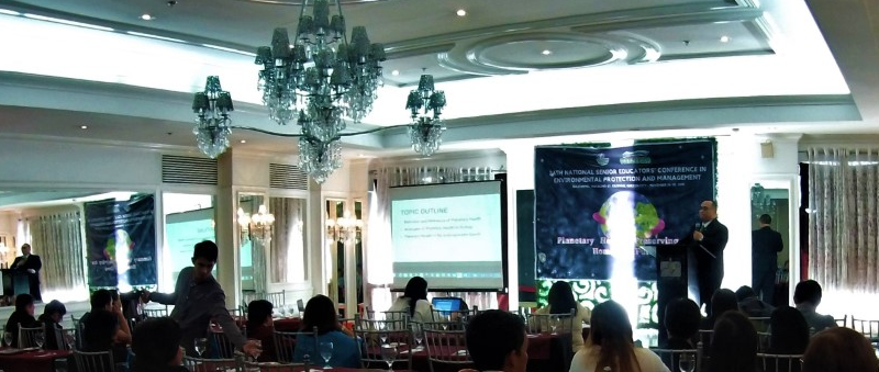 DLSU-D prof attends 24th National Senior Educators' Conference on Planetary Health