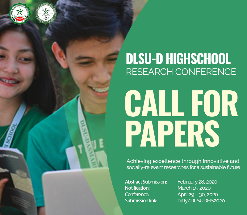 DLSU-D Research Conference 2020